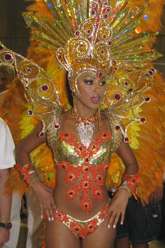 Grand Rio carnival dancer