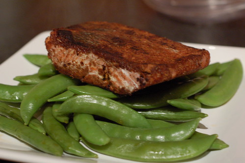Sugar crusted salmon