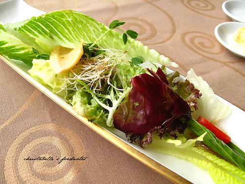 深坑葡萄樹莊園套餐沙拉