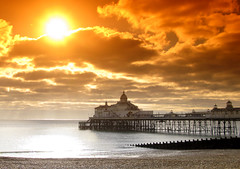 Big Sun and Eastbourne Pier (grahambrown1965) Tags: sea sky orange cloud sun water clouds canon effects sussex pier piers filter eastbourne fabulous filters effect eastsussex tobacco soe filtereffect damncool eastbournepier g9 tobaccofilter filtereffects aplusphoto firsttheearth thatsbostin canong9 flickrestrellas rubyphotographer naturescreations flickrsmasterpieces