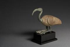 Ibis Figure (mattbellphoto) Tags: wood usa bird art bronze studio ancient egypt northcarolina ibis egyptian chapelhill unc ptolemaic universityofnorthcarolinaatchapelhill acklandartmuseum 63111