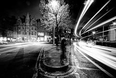 Center of Dublin (Yasser Abu-Ghdaib) Tags: ireland bw dublin irish college night landscape interestingness nikon long exposure sigma center trinity rays 1020mm citycenter d80 yasserphotography