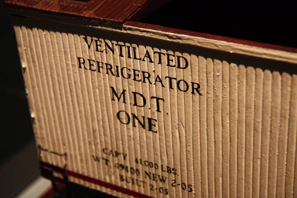 NMAH Refrigerator Car Model