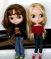 Isabella and Greta