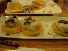 Shrimp, Pork, Mushroom Dumplings