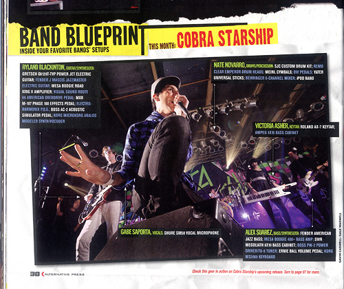 Tearsheet: Cobra Starship