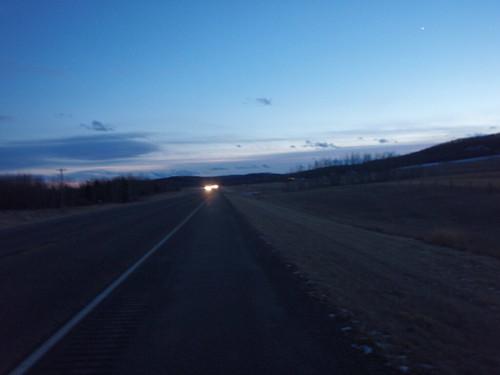 Dusk at 3900 KM