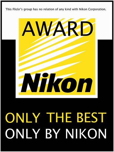 The ONLY THE BEST, ONLY BY NIKON's Award