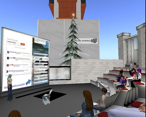 Presenting in Second Life
