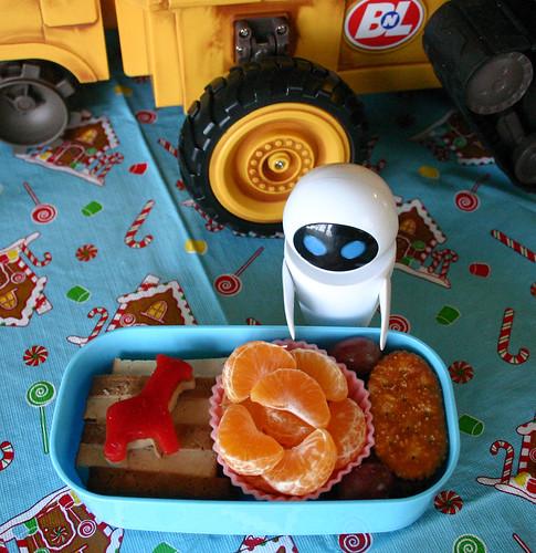 Preschooler Bento #118: December 15, 2008