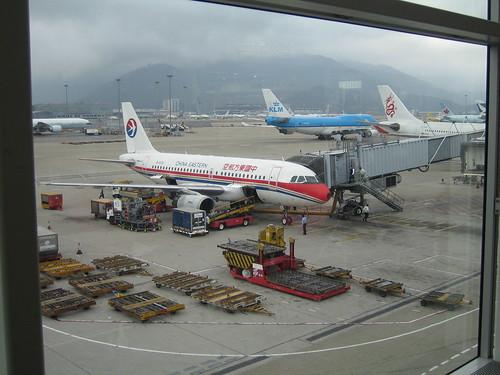 香港機場登機口