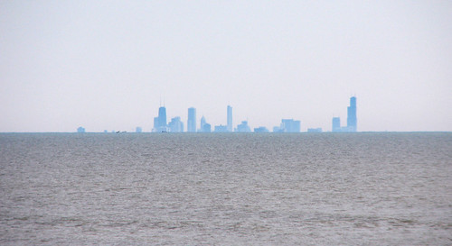 Chicago from Illinois Beach State Park