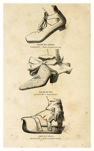 010 Calzado siglos XVII-XVIII-Histoire de la chaussure depuis l'antiquité-1862- Paul Lacroix y Alphonse Duchesne