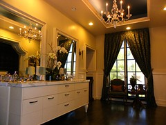 Gentleman's Bathroom - D Christjan Design, Fine Cabinetry & Manufacturing