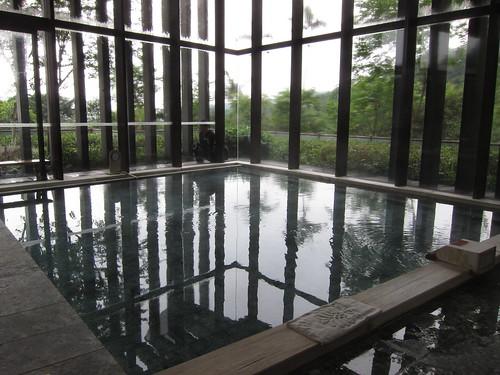 Modern hot spring baths