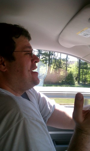 .@rurugby serenades me with Madonna's Borderline #roadTrip