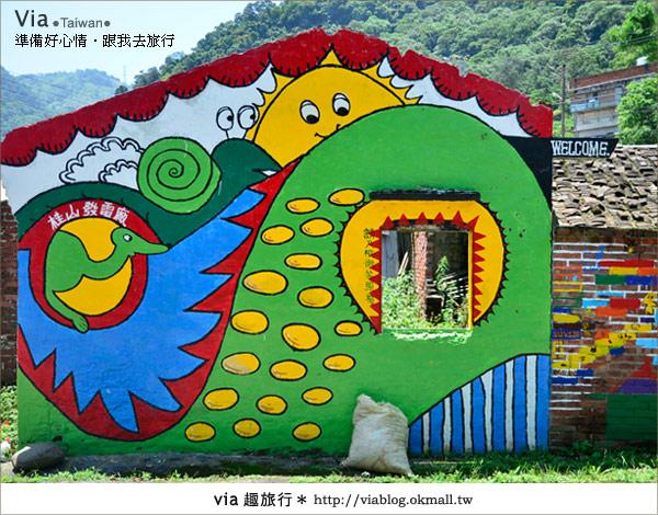【彩繪客家村】驚豔,彩繪村!新竹竹東鎮軟橋社區尋彩趣3