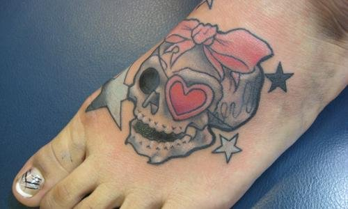 Common places for tattoos on