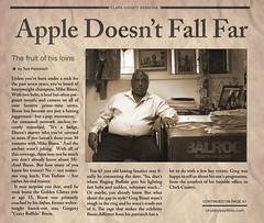 Greg Bison Newspaper Article (BBTG)