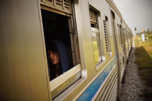 Im Zug nach Hua Hin