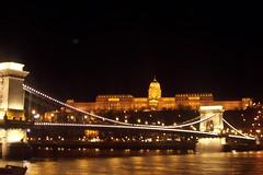 Budapest , Hungary (Alexanyan) Tags: bridge light black museum night river europe hungary budapest palace duna magyar danube hun hungarian magyarorszag 5photosaday