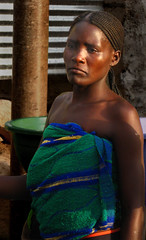 Maybe... (Carlos Ebert) Tags: africa woman costume african angola benguela colorphotoaward
