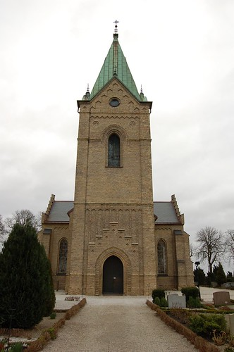Lund Syd近くの教会