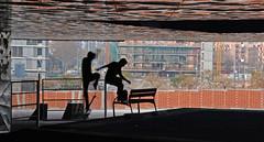 Become one (SlapBcn) Tags: barcelona forum skate skater slap 18200vr clonado abigfave nikond80 diamondclassphotographer flickrdiamond betterthangood slapbcn experimentosconphotoshop