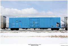 NRDX Refrigirated Boxcar 13310 (Robert W. Thomson) Tags: railroad train montana railway trains traincar boxcar winston reefer rollingstock coldtrain reefercar nrdx raillogisitics refrigiratedboxcar refrigiratedcar nrdx13000
