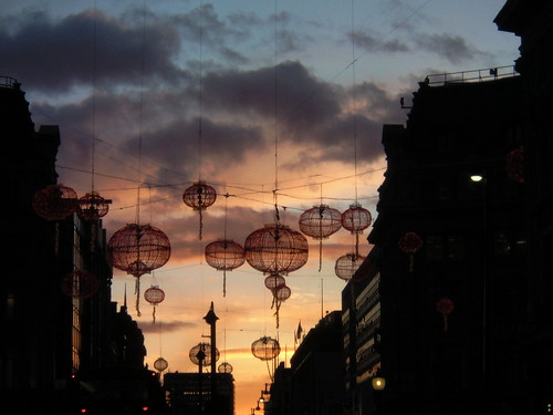 Oxford Circus near dusk 3