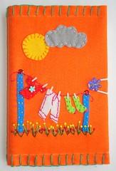 bloquinhos 89 (Bordados DaAna®) Tags: notebook embroidery journal capa felt cover feltro applique bordado aplique broderie feutrine fieltro pannolenci blocodenotas daana