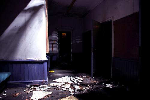 High Royds Asylum Underground And Wards March 08