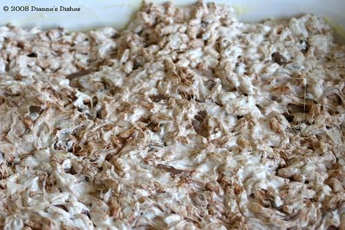 Chewy Chocolate Peanut Butter Rice Squares: Setting Up