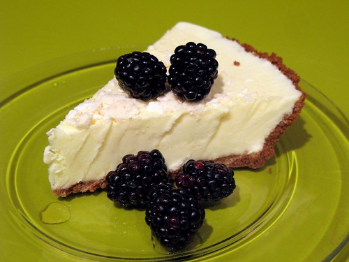 Lemon Semifreddo Pie