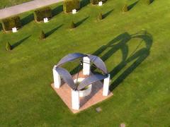 Memorial Caen (Fanny et Anthony (NonSenZ)) Tags: kite france garden photography memorial jardin aerial normandie kap normandy calvados caen kiteaerialphotography photographiearienneparcerfvolant nonsenz alfp