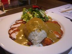 Chicken Katsu Curry with Rice - Wagamama Flinders Lane (avlxyz) Tags: food chicken japanese rice melbourne curry ramen chop cutlet kare katsu raisu wagamamaflinderslane
