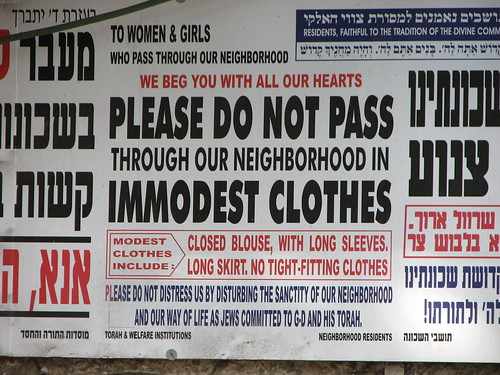 immodest clothes