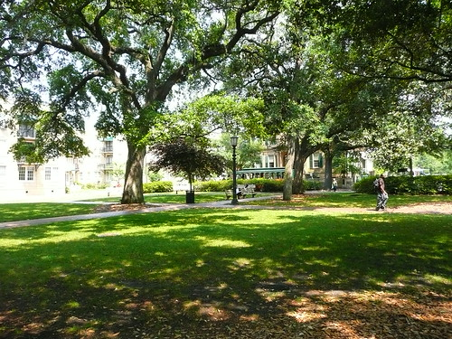 square in savannah