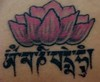 lotus mantra tattoo This is my