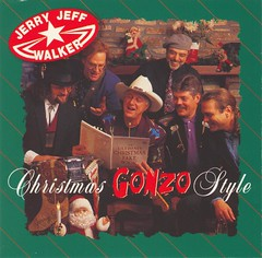 Jerry Jeff Walker - Christmas Gonzo Style (1994) [CD cover]