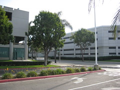 Orange County Jail & Public Parking in Santa Ana, California