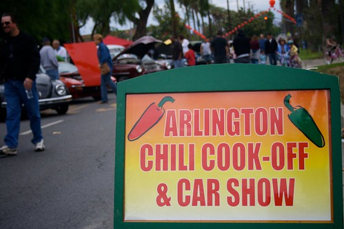 Arlington, Riverside, California Chili Cook-Off and Car/Motorcycle Show 2008