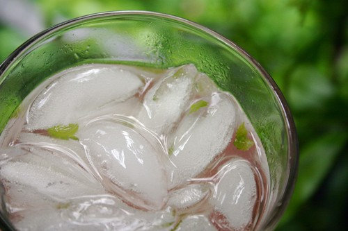 rhujito with ice