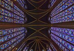 Ste Chappelle, overhead (Tiz_herself) Tags: paris france gothic churches stainedglass explore stechappelle sigma1020mm saintechappelle nikond40x httpwwwzazzlecomwallsofglasscard137860915467325469