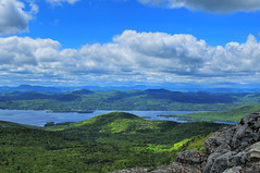 The High Peaks and Lake George as seen from Mt. Sleeping Beauty (Micha67) Tags: vacation sun mountain newyork clouds landscape michael hiking lakegeorge micha sleepingbeauty adirondack schaefer potofgold fineartphotos goldenmix mywinners platinumphoto anawesomeshot wonderfulworldmix theperfectphotographer goldwildlife goldstaraward absolutelystunningscapes bestoneframeshortnominee