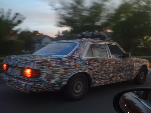 pen car