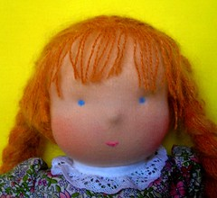 New waldorf doll with nose (first try) (alja8) Tags: toys doll dolls handmade sewing waldorf softdoll bambola waldorfdoll waldorfdolls  steinerdolls fabricdolls childrensdolls   howicreate bambolawaldorf alja8sdolls