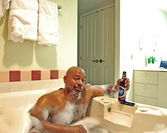 Relaxin' (kchbrown) Tags: vacation man male beer digital lasvegas relaxing whirlpool samadams suds kchbrown nikond40 2008 kcbrownphotography