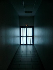 Last exit (fatseth) Tags: door light white black feast composition hospital dark room sombre porte sortie exit fte emergency morel salle fatseth allin1 genseric
