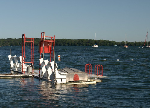 Lifeguard Station - No Swimming during Flood